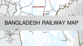 Bangladesh Railway Map