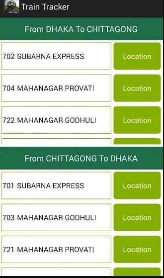 Bangladesh Train Tracker Online