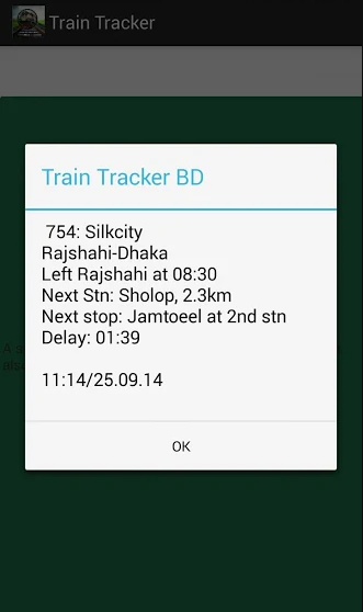 BD Train Tracker Apk